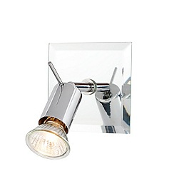 Litecraft - Mercury 1 Light Spotlight Mirror - Chrome