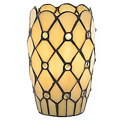 Litecraft - Tiffany Jewel Vase Table Lamp - Honey