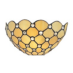 Litecraft - Tiffany Jewel Wall Light - Honey