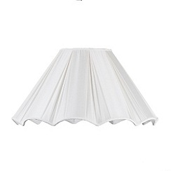 Litecraft - 20 Inch Scallop Easy to Fit Shade - Cream