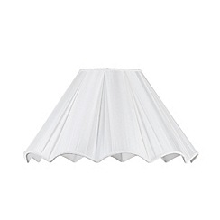 Litecraft - 19 Inch Scallop Easy to Fit Shade - Cream