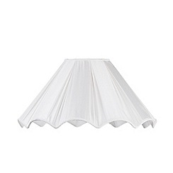 Litecraft - 19 Inch Shor Scallop Easy to Fit Shade -Cream