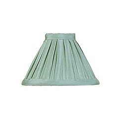 Litecraft - 5 Inch Candle Bulb Box Pleat Shade - Sage
