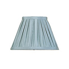 Litecraft - 8 Inch Easy to Fit Box Pleat Shade - Duck Egg