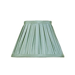 Litecraft - 8 Inch Easy to Fit Box Pleat Shade - Sage