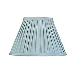 Litecraft - 10 Inch Easy to Fit Box Pleat Shade - Duck Egg