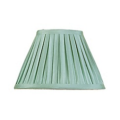 Litecraft - 10 Inch Easy to Fit Box Pleat Shade - Sage
