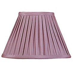 Litecraft - 10 Inch Easy to Fit Box Pleat Shade - Grape