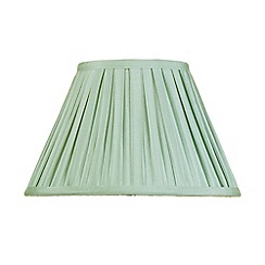 Litecraft - 12 Inch Easy to Fit Box Pleat Shade - Sage
