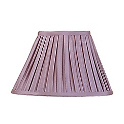 Litecraft - 12 Inch Easy to Fit Box Pleat Shade - Grape