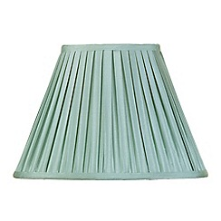 Litecraft - 14 Inch Easy to Fit Box Pleat Shade - Sage