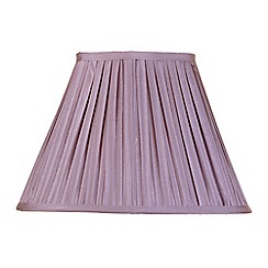 Litecraft - 14 Inch Easy to Fit Box Pleat Shade - Grape