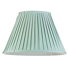 Litecraft - 16 Inch Easy to Fit Box Pleat Shade - Sage