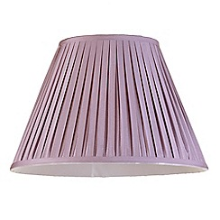Litecraft - 16 Inch Easy to Fit Box Pleat Shade - Grape