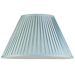 Litecraft - 20 Inch Easy to Fit Box Pleat Shade - Duck Egg
