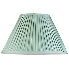 Litecraft - 20 Inch Easy to Fit Box Pleat Shade - Sage