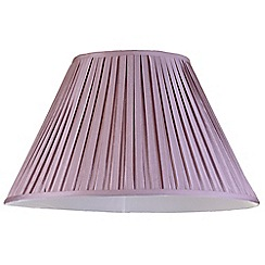 Litecraft - 20 Inch Easy to Fit Box Pleat Shade - Grape