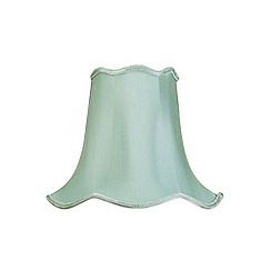 Litecraft - 12 Inch Easy to Fit Scalloped Shade - Sage