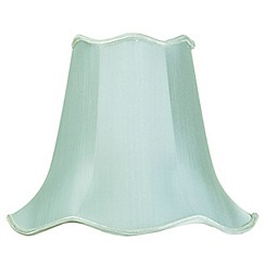 Litecraft - 14 Inch Easy to Fit Scalloped Shade - Sage
