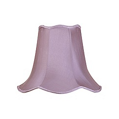 Litecraft - 14 Inch Easy to Fit Scalloped Shade - Grape