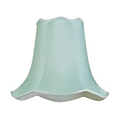 Litecraft - 16 Inch Easy to Fit Scalloped Shade - Sage