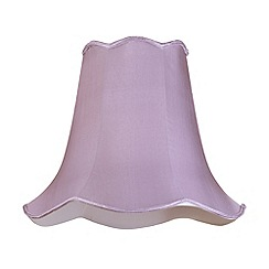 Litecraft - 16 Inch Easy to Fit Scalloped Shade - Grape