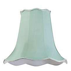 Litecraft - 18 Inch Easy to Fit Scalloped Shade - Sage