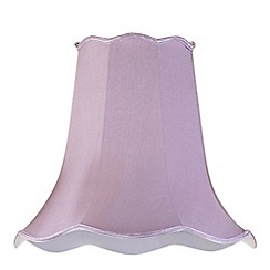 Litecraft - 18 Inch Easy to Fit Scalloped Shade - Grape