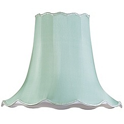 Litecraft - 20 Inch Easy to Fit Scalloped Shade - Sage