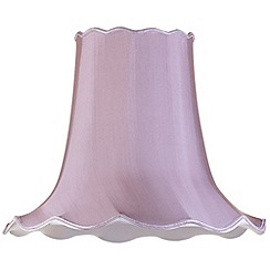 Litecraft - 20 Inch Easy to Fit Scalloped Shade - Grape