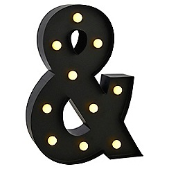 Litecraft - Ampersand LED Table Lamp - Black