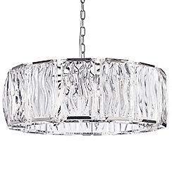 Litecraft - Kent 7 Light Ceiling Pendant - Chrome