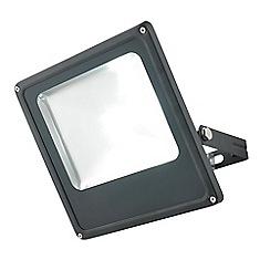 Litecraft - Cordelia Medium 1 Light Outdoor LED Slim Line Flood Light - Black