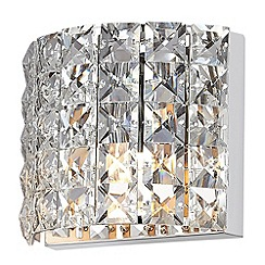 Litecraft - Marquis by Waterford - Moy LED 1 Light Bathroom Wall Light - Chrome