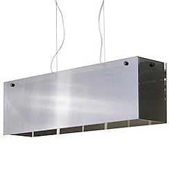 Litecraft - Box Infinity Mirror Ceiling Pendant - Smoke