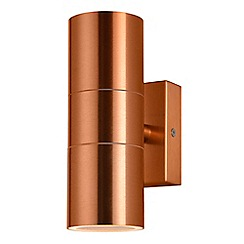 Litecraft - Kenn Up & Down Light Outdoor Wall Light - Copper