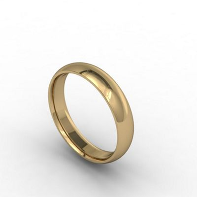 Carity 18ct yeow 4mm court - . -