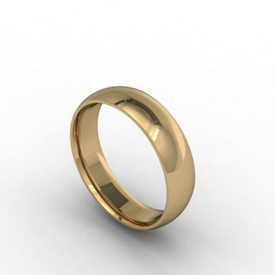 Carity 18ct yeow 3mm fat court - . -