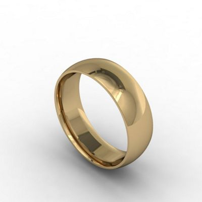 Carity 18ct yeow 4mm fat court - . -