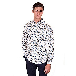 Steel & Jelly - Cream floral print shirt