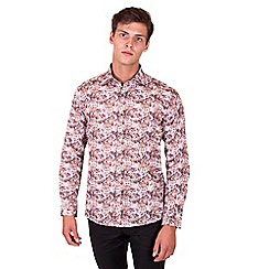Steel & Jelly - Big and tall pink limited edition floral print shirt