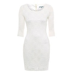Alice & You - Cream luxe lace layer dress