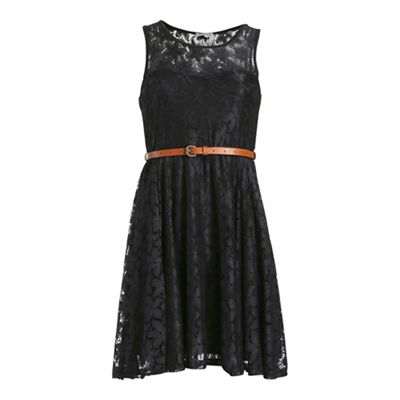 Alice & You Black lace sweetheart dress - . -
