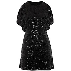 Cutie - Gold shiny sequin dress