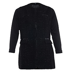 Samya - Black shimmery jacket