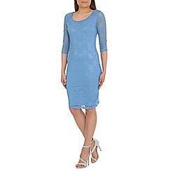 Alice & You - Light blue lace layer midi dress