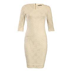 Alice & You - Cream lace layer midi dress