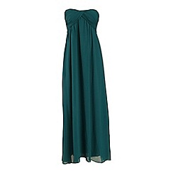 Alice & You - Mint ruched bandeau maxi dress