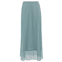 Alice & You - Light blue pleated maxi skirt