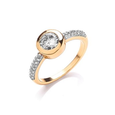 Buckey ondon God cubic zirconia set ring - . -